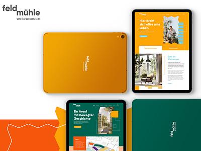 Feldmühle - Detail website ux ui design digital design