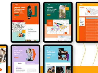 Feldmühle - Website ui website digital ux ui design design