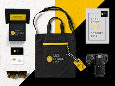 MonPortraitPro Brand guidelines branding print brand guidelines