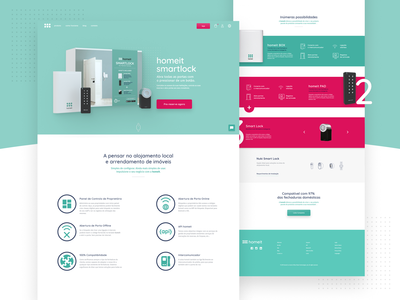 Homeit - Landing Page