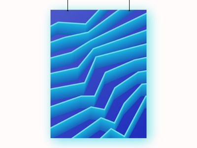 Gradient Poster Design