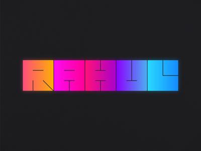 Minimal Typography Poster Design🤘