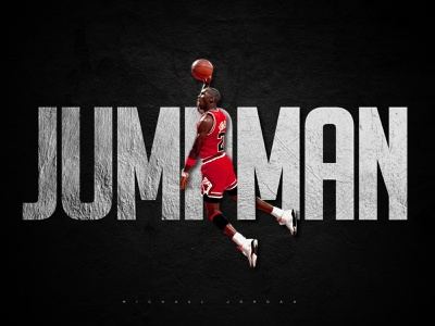 Michael Air Jordan chicago chicago bulls jumpman air jordan jordan michael jordan usa nba basketball typography illustrator design
