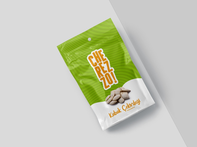 Cherezzo - Pumpkin Seeds Packaging seeds packaging design packaging germany food corporate branding logo typography illustrator branding design