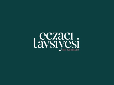 Eczazı Tavsiyesi - Logo Design pharmacy beauty salon vector turkey corporate branding logo typography illustrator branding design