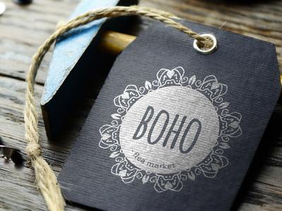 Boho Flea Market - Logo Design