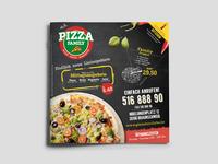 Pizza Family - Menu Design