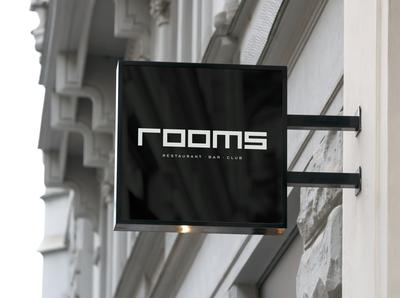 Rooms - Concept Logo