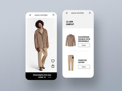 Louis Vuitton app concept store