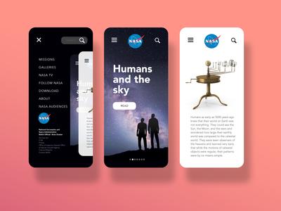 NASA redesign app concept