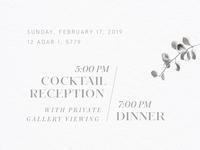 Silver Invite