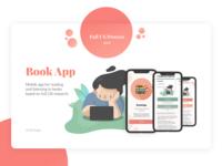 Book App UI/UX Design