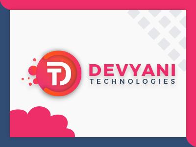 Devyani Technologies Logo design illustration logo