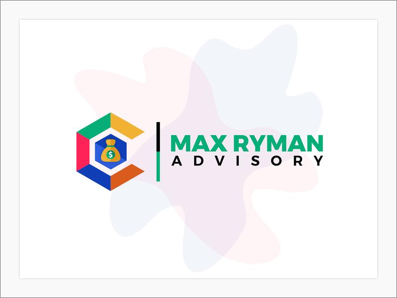 Max Ryman Advisory branding logo design
