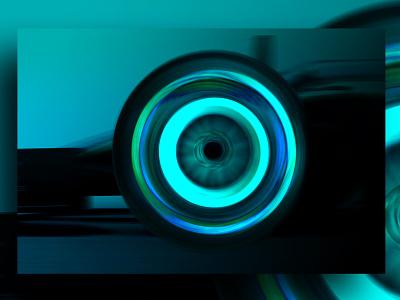 Pirelli Tyre Blue racing car pirelli f1 tyres f1