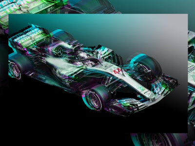 Lewis Hamilton Abstract Canvas illustration abstract racing racing car f1digitals f1 lewis hamilton