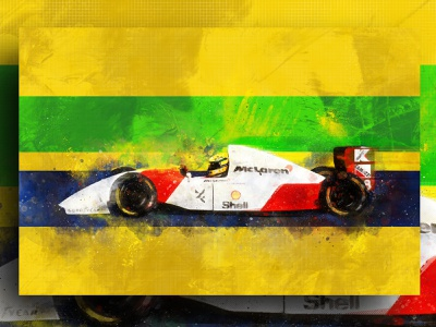 Senna Helmet Illustration Canvas illustration helmet f1 canvas design canvas print abstract racing f1digitals racing car f1