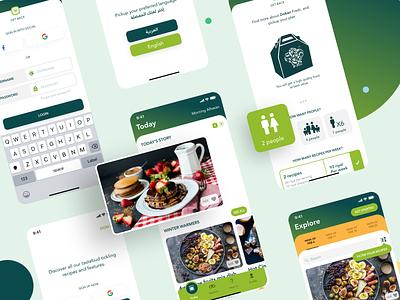 Dokan 2.0 kitchen cooker cook fresh food food friends people ios app design ux ui