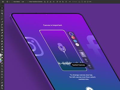 WavyCAST for iPad - coming soon import voice design art redesign episode record podcast ios app design ux ui