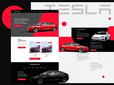 Tesla - website