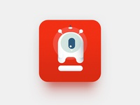 Concept for an icon of an application