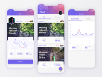 Cycling Track App