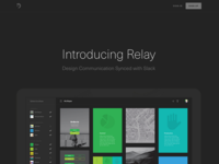 Relay - Design communication synced with Slack