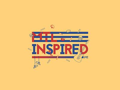 MTL Inspired Artwork graphic design mtl montreal montréal illustration typography branding logo design