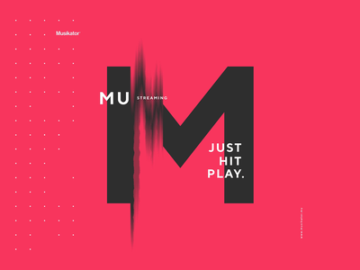 Musikator Branding musikator musikator flat illustration web typography music transition animation branding logo