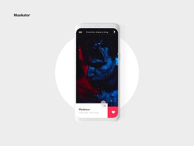 Musikator™ - Cast Playlist branding app ui ux animation design music music player music app
