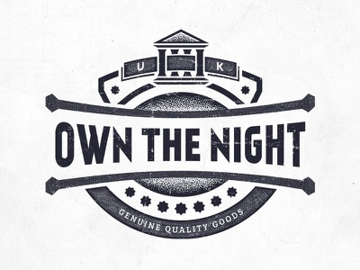Own The Night deonic own the night clothing tshirt texture stippling