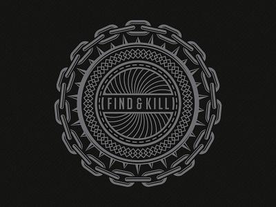 Vicious Art - Find And Kill deonic vicious art clothing apparel tshirt vector chain