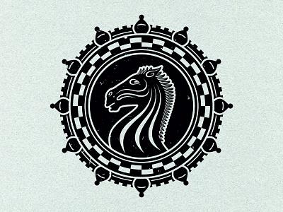 Ejynl deonic ejynl chess black t-shirt clothing apparel knight horse