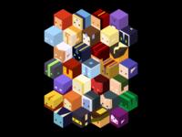 Dota 2 - Cube Heroes