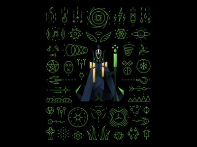 Dota 2 - My Turn Now icon vector game t-shirt illustration rubick dota 2 dota