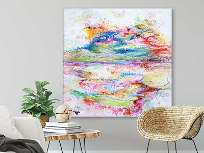 New abstract painting - Fusion II design design art art design paintings painting abstract artwork artist art