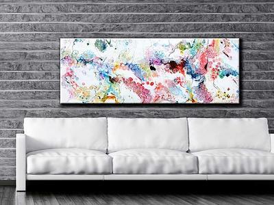 Canvas print Alleviate I 60x180 cm artwork artist design design art art design art canvas art canvas wall art canvas print