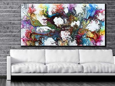 Canvas print Interstellar I 100x200 cm artwork artist design design art art design art canvas wall art canvas print canvas art