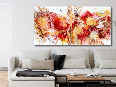 Canvas print Pulse I 70x140 cm artwork artist art design art canvas wall art canvas print canvas art canvasart