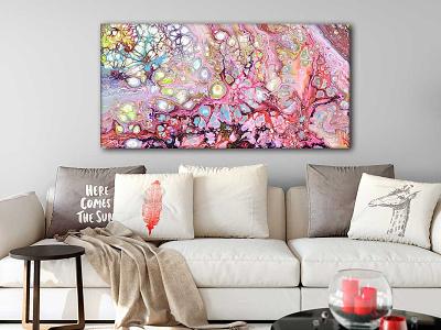 Canvas print Passion I 70x140 cm artwork artist art design art canvas wall art canvas print canvas art canvasart