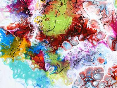 Abstrakte Kunst von Künstler Michael Lönfeldt artwork artist art plakate leinwandbilder abstrakte kunst gemälde