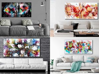 Gemälde von Künstler Michael Lönfeldt wandbilder acrylmalerei acrylgemälde malerei acrylbilder gemälde