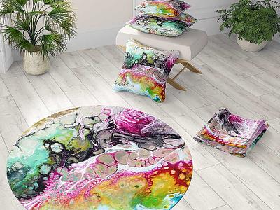 Living design 5381 - pillows, blankets, carpets pillow design carpet design home decor interior design product development product design design art design art design art
