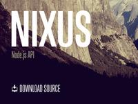 Nixus | Node.js API