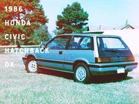 My First Car: '86 Civic Hatchback