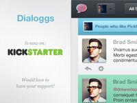 Dialoggs on Kickstarter