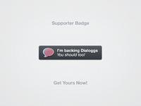 Dialoggs Suporter Badge