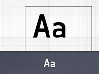 I'm Making a Font