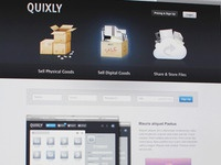 Quixly 2 Homepage