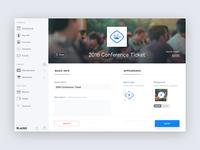 Plasso Dashboard commerce hero sidebar form app